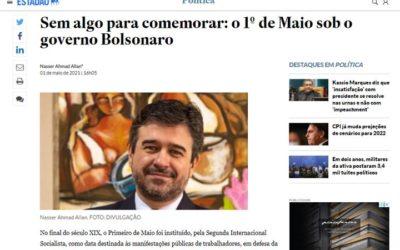 Gasam na Mídia: Nasser Allan assina artigo sobre o 1º de Maio no Estadão