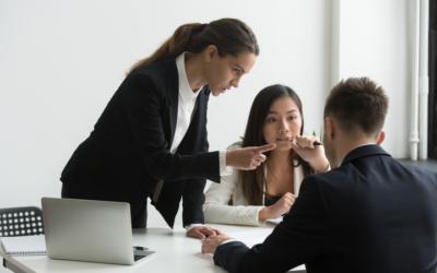 Como agir em caso de assédio moral no trabalho